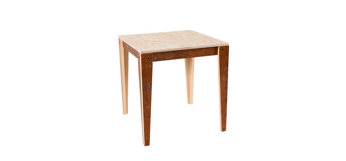 arbejdsbord, værkstedsbord, alu, genbrugstræ, fleksibel, børnehave, skole, værksted, selvhjulpen