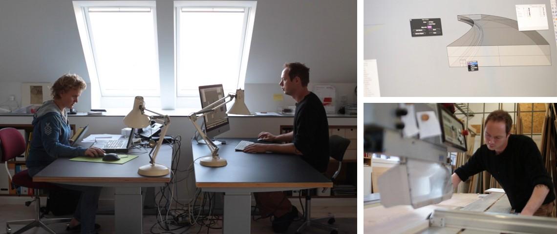 Birgitte Palmelund og Johannes Gundesen Rådgiver omkring indretning af kreative læringsmiljøer i skoler og børnehaver.