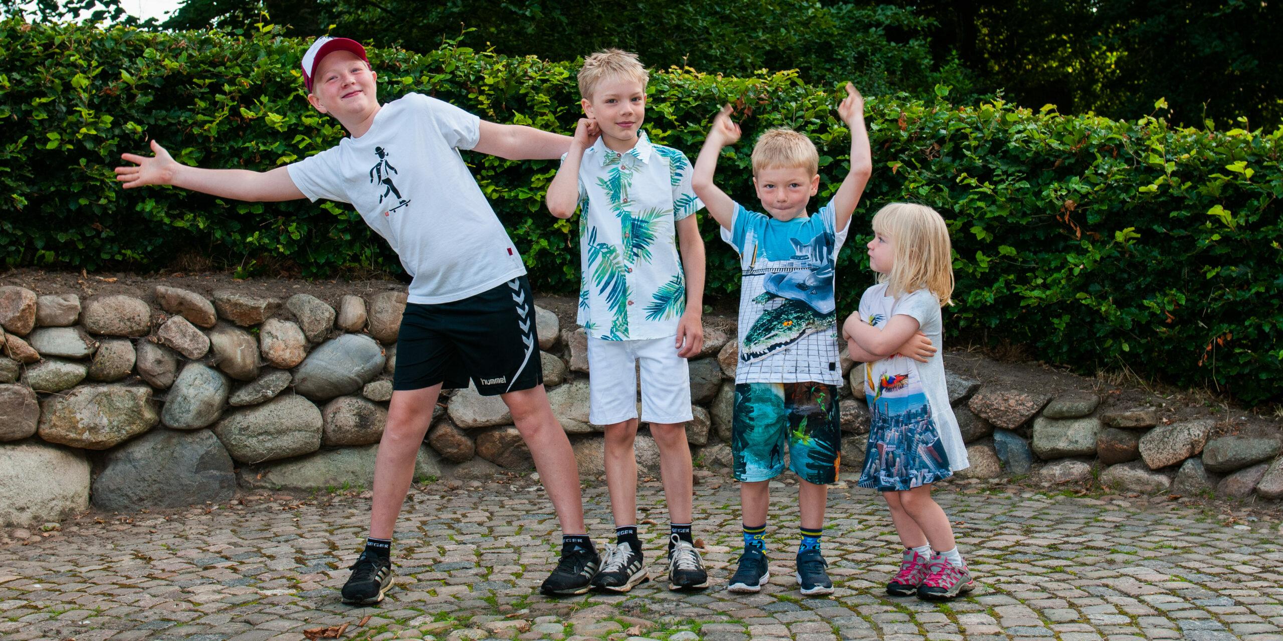Fotofortælling fra Eventyrstema på Kirkebakke Skolen, Vejle